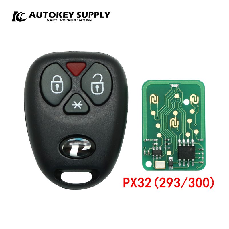Car styling Remote key for Positron alarm system PX32