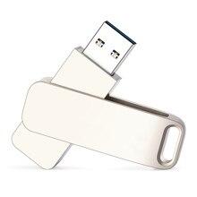 Silver Metal Usb Flash Drive 2.0 High Speed Pen Drive 128gb 64gb 32gb 16gb 8gb 4gb Pendrive Free Custom Logo Flash Memory Stick цена и фото