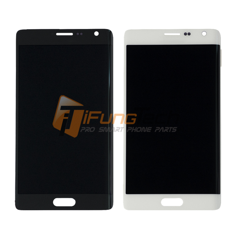 3pcs Grey/white For Samsung Note Edge N915f/n915v/n9150 Lcd Display Touch Screen Digitizer Assembly Free Shipping