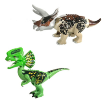 Super Heroes Jurassic Dinosaur Building Blocks Tyrannosaurus Action Figures Bricks Toys Compatible With Legoings