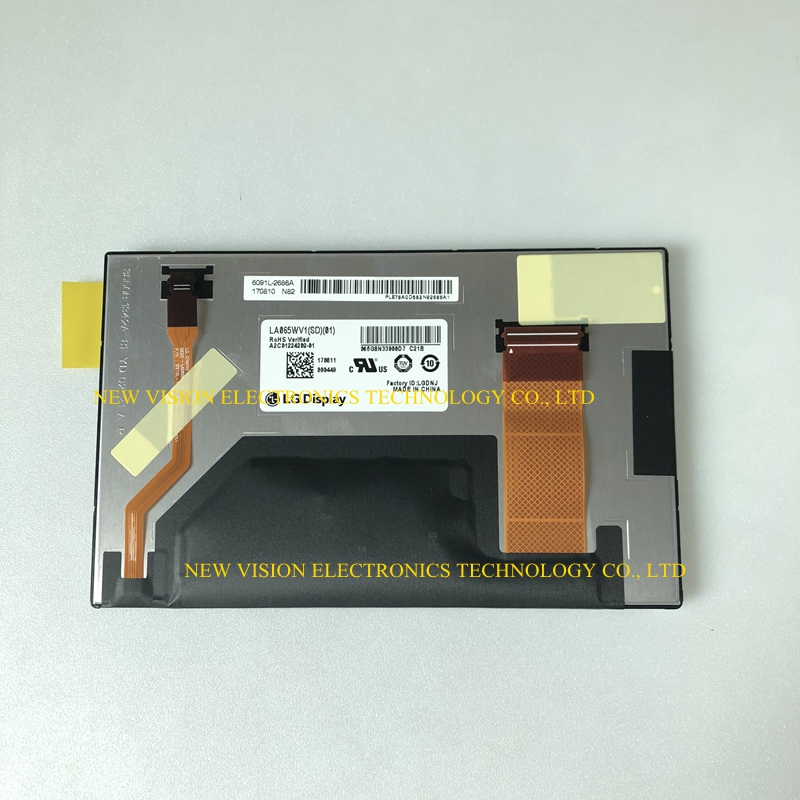 LA065WV1 SD01 LA065WV1 SD 01 LA065WV1SD01 New Original 6 5 inch LCD Screen Display for Car