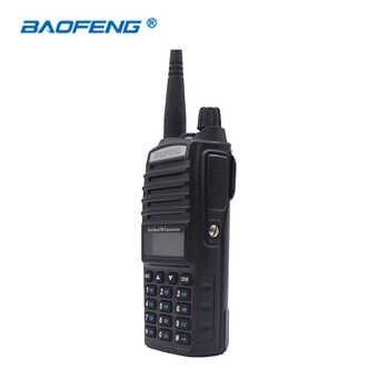 2 PCS UV-82 Baofeng HAM CB Radio Walkie Talkie Dual Band Dual PTT 2 Way UV82 Portable Transceiver VHF UHF 128CH UV 82 Radios