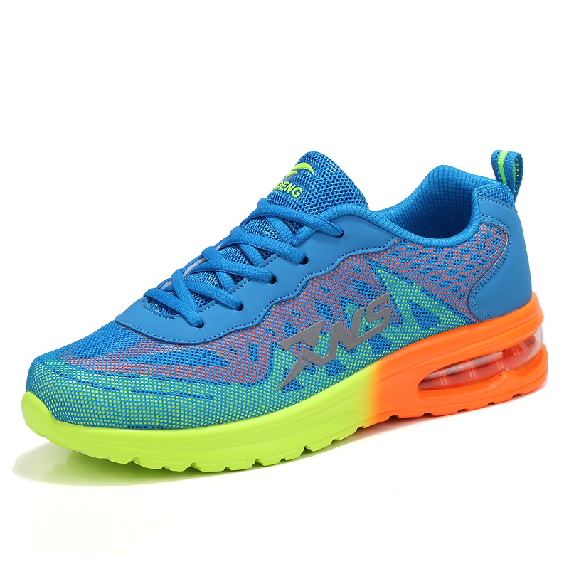 Designer Mens Sneakers Spring/Summer/Autumn Cheap Running Shoes For Men Orange/Red Mens Running Shoes Breathable Trainers Men