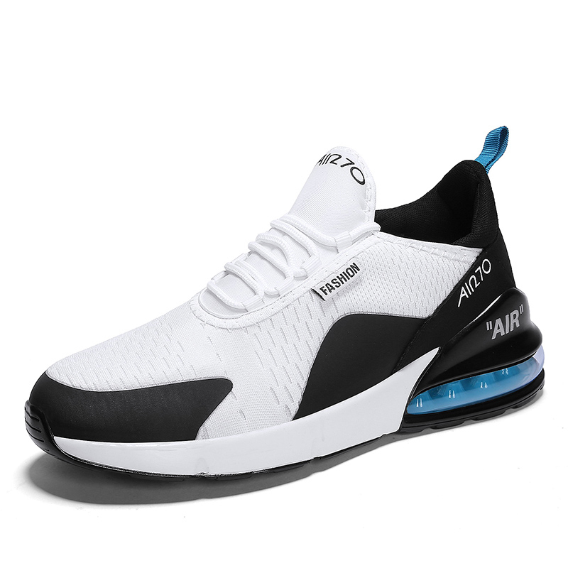 super popular 7c44f 6b9ba New arrival MAX 270 big size brand couple sports and AIR running shoes off  white shoes zapatos de hombre knit outdoor run shoes