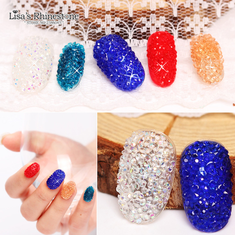 Tiny Mini Crystal Pixie Micro 1.1-1.3mm Mini Nail Arts Rhinestones - Արվեստ, արհեստ և կարի - Լուսանկար 4