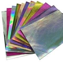 20*30 см блестящая фольга ткань блестящая виниловая кожа лист для волос луки DIY украшения ремесла 1 шт