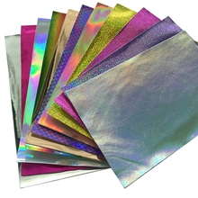 20*30cm Glitter Foil Fabric Vinyl Leather Sheet For Hair Bows DIY Decoration Crafts 1piece
