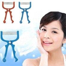 Новый handhel весна лица для удаления волос эпиляция threading эпилятор для волос губ портативный лице epi ролика лулу 800L
