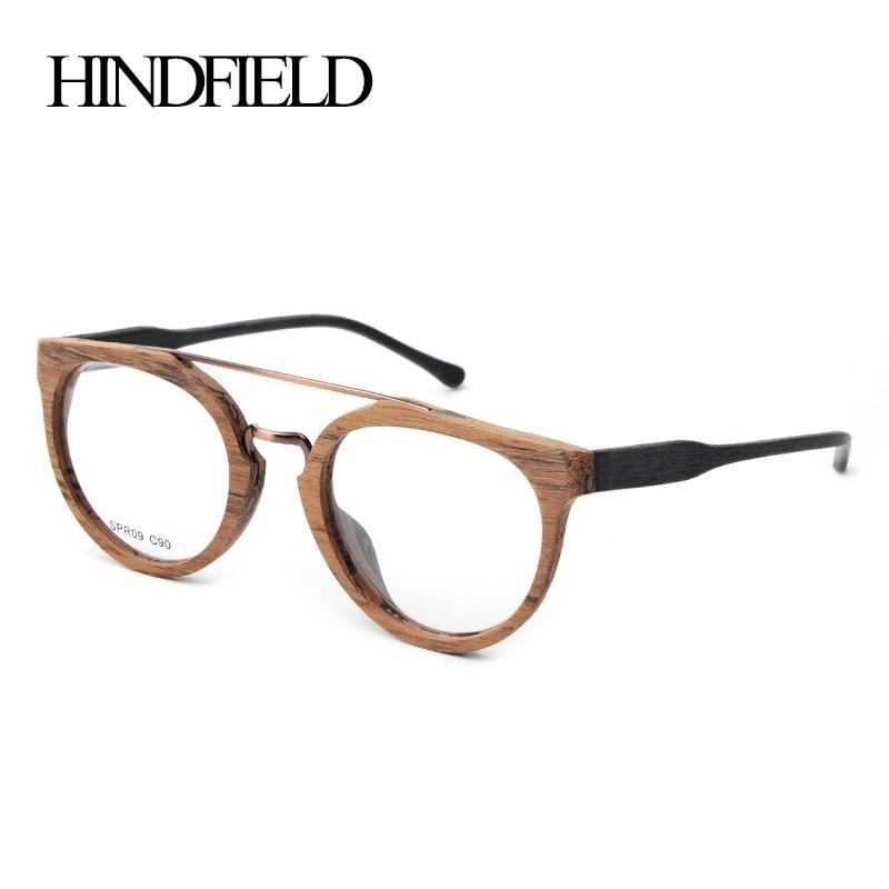 HINDFIELD 2017 Σχεδιαστής Γυαλιά Γυναικεία Πλαίσιο Μάρκα Οπτικά Γυαλιά Ανάγνωση Φακού για υπολογιστή oculos de grau Frame Glasses Men