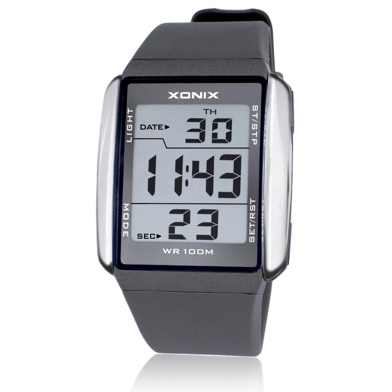 Mode Männer Sport Uhren Wasserdichte 100 M Outdoor Spaß Digitale Uhr Schwimmen Tauchen Armbanduhr Reloj Hombre Montre Homme Digitale Uhren Uhren