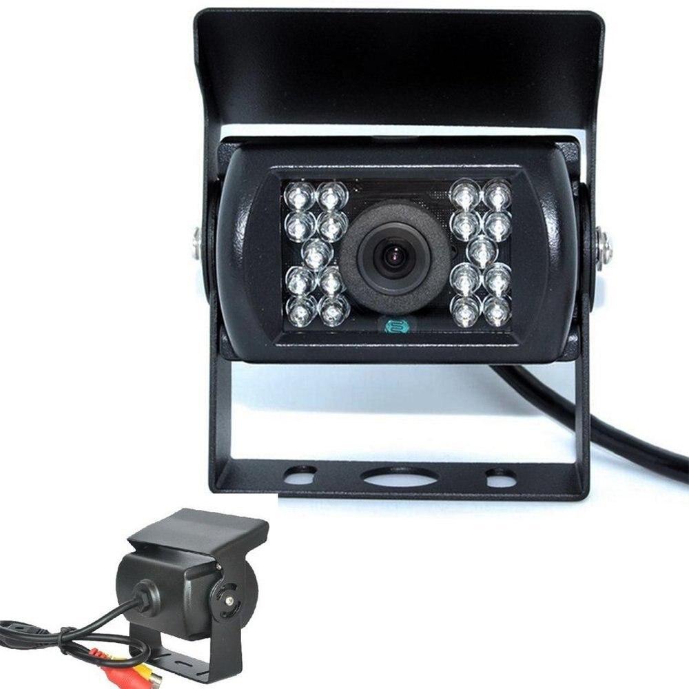 18 IR LED Infrared Night Vision Car Rear Camera Waterproof Back Camera 120 Degree Angle Lens Car Reversing Camera For Most Car