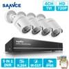 SANNCE 8CH CCTV Camera System 1080N HD CCTV Set 1 0MP 720P Surveillance Camera IR Indoor