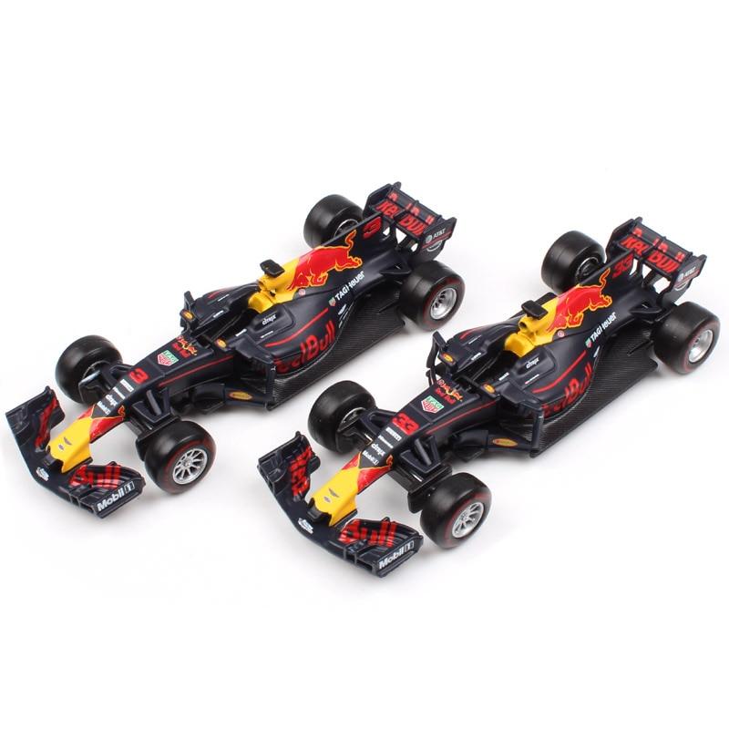 1:43 Scale F1 formula one 2017 Red Bull Racing rb13 2016 SF16-H Petronas F1 Team W07 diecast Hamilton Sebastian model car toys