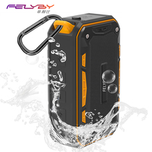 ФОТО felyby professional s618 mini portable outdoor wireless bluetooth stereo speaker 3 color waterproof for sport and phone computer