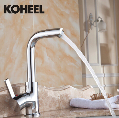 Chrome Single Lever Hot And Cold Kitchen Faucet Sink Mixer Kitchen Tap Kitchen Sink Bathroom Basin