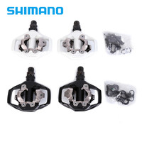 Shimano PEDAL PD M530 Black MTB Mountain XC Clipless Bike SPD Bicycle Cycling Pedals Inc Cleats