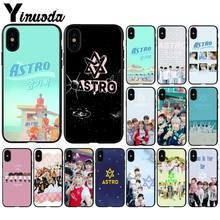 Yinuoda KPOP ASTRO Heart shaped K-POP Painted Beautiful Phone Accessories Case for iPhone 5 5Sx 6 7 7plus 8 8Plus X XS MAX XR(China)