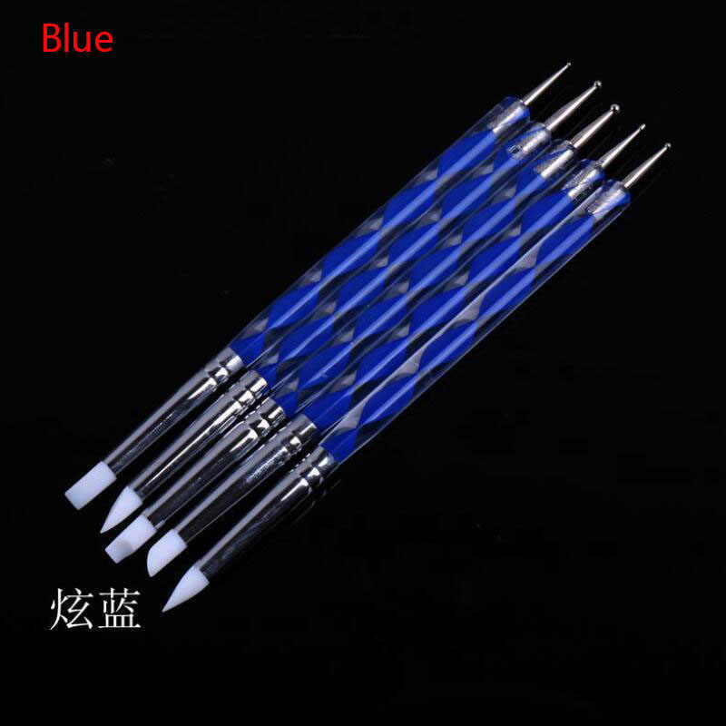 Ball Stylus Clay Dotting Tools Polymer Ceramics Pottery Tool Embossing Nail Art Sculpting Tools 5 X 2 Way