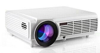 Vente chaude Plus Brillants 5500 lumens Native Full HD Accueil 1080 P Vidéo 3D numérique HDMI USB maison Proyector