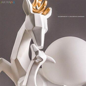 Modern Origami Sevimli Elk Masa Lambaları Gece Işıkları Prenses Odası Için Masa Lambası çocuk Odası Noel Dekorasyon Masa Lambaları