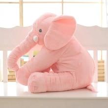 Elephant Shape Plush Sleeping Cushion for Kids