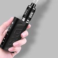 80W Electronic Cigarette Vape Mod Box Vaporizer Hookah Vaper Shisha Pen E Cig Smoke LED Smoking Kit Mechanical Cigarettes Safe