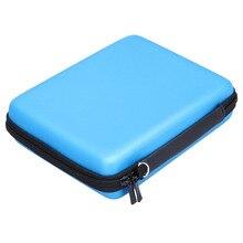 Duro EVA Caja de Almacenamiento Zip Titular de Protección Bolsa Para la Consola Nintendo 2DS Color Asa de transporte de Espacio De Almacenamiento Para Tarjetas de Auriculares