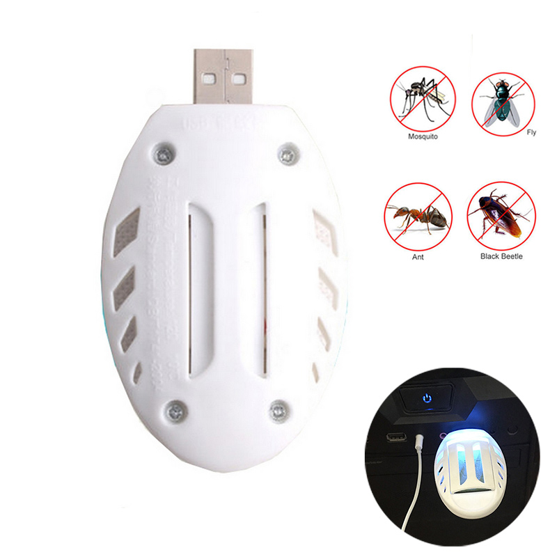 Portable USB Mosquito Killer Heater Electric Anti Mosquito Repellent Pest Fly Insect Heater For Home Or Travel Use