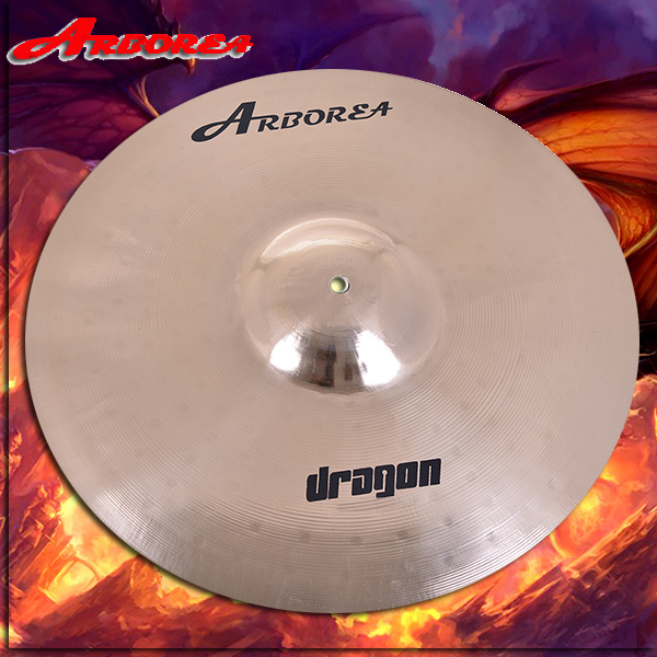 Arborea Handmade Cymbal dragon series 16 crash arborea ghost cymbal set on sale