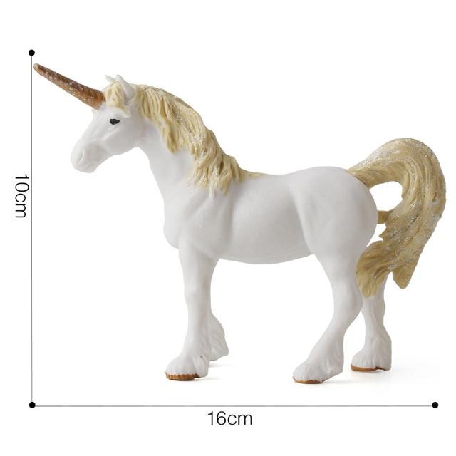 Unicorn Toy Simulation Mini Animal Model European Mythology Legend Animals Action Toy Figures Kids Gifts