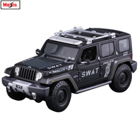 Maisto 1:18 jeep car series manufacturer authorized simulation alloy car model crafts decoration collection toy tools