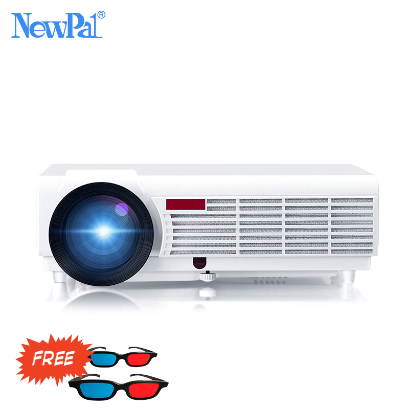 NewPal 5000Lumens Home Projector Support 1920 1080Pixels Video Android WIFI 3D Mini LED Projector Home Business