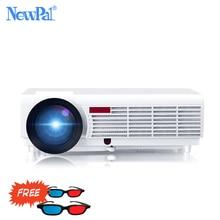 NewPal 5000 Lumen Home Projektor Unterstützung 1920*1080 Pixel Video Android WIFI 3D Mini LED Business School Proyector