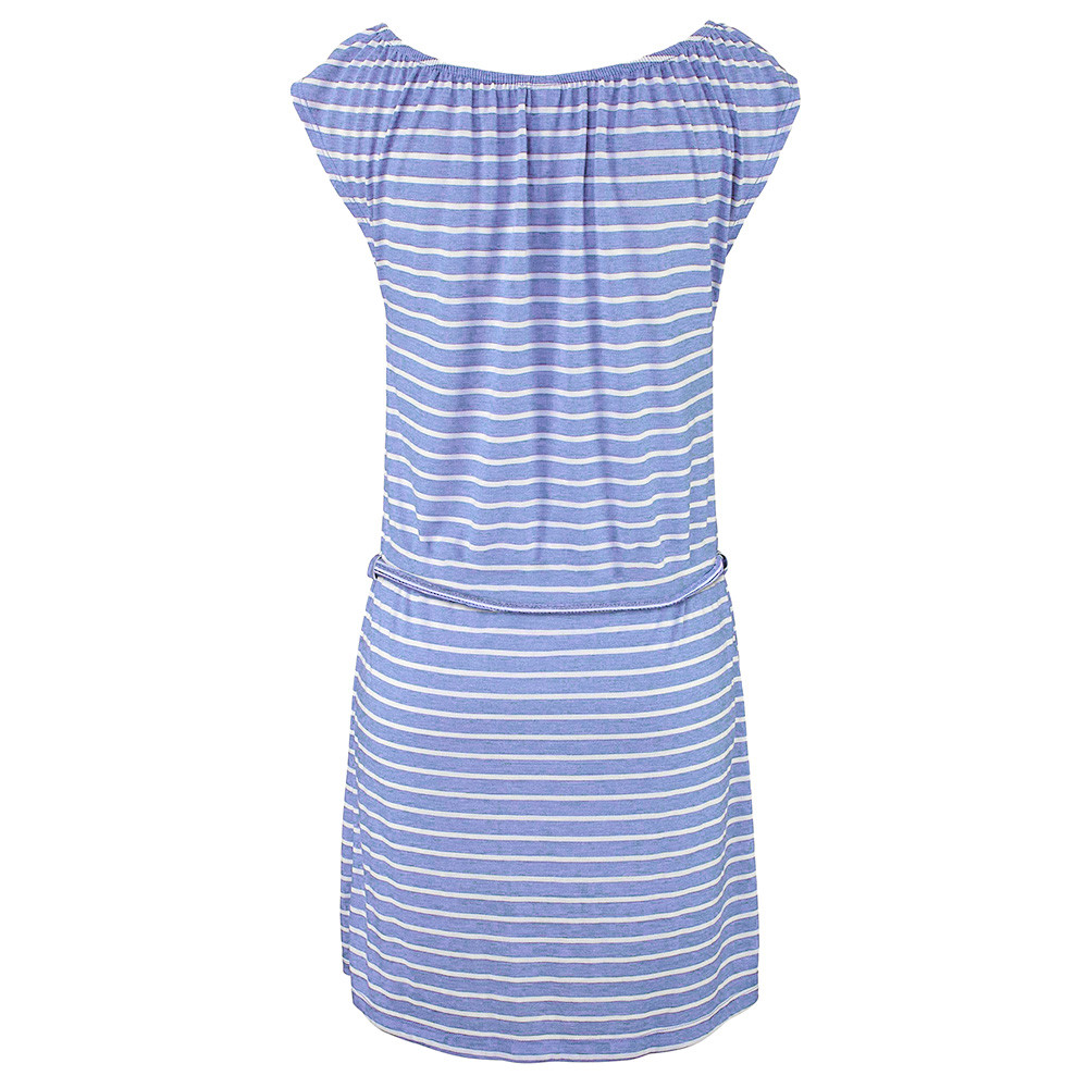 abbb9e735c5 2018 Overalls for women dress Summer Round Neck Short Sleeve Striped es  Casual Elegant Bandage Beach Casual PAUGO3-in Dresses from Women s Clothing  on ...