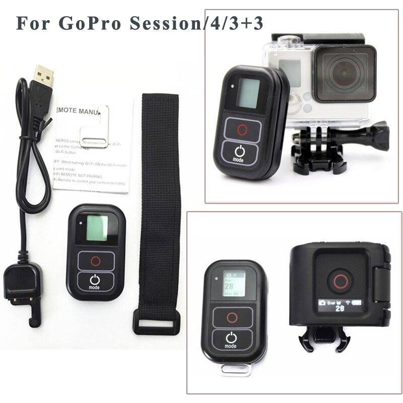 Accessoires Pour GoPro Télécommande + Sans Fil RC De Charge Câble + poignet ceinture Pour Gopro