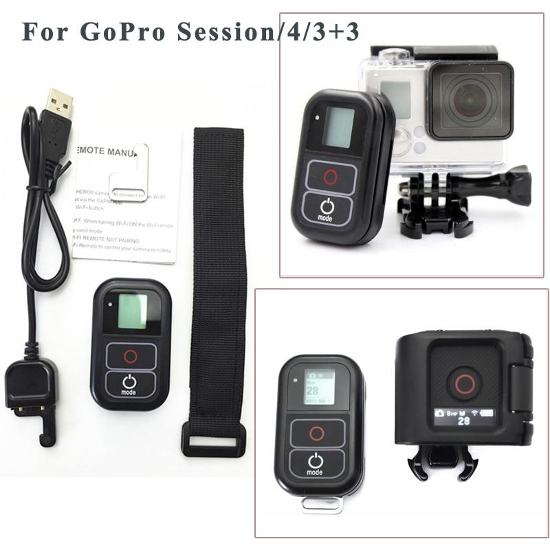 Zubehör Für GoPro Fernbedienung + Wireless RC Ladekabel + handgelenk gürtel für...