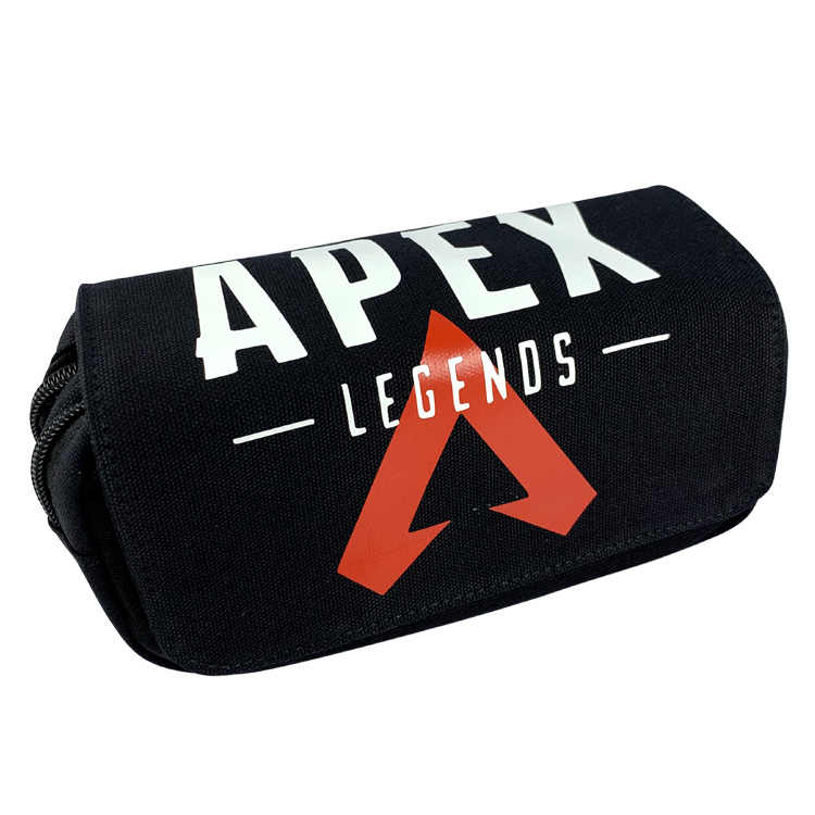 2019 new anime APEX Legends school students green canvas pen bag game pencil case hero pencil bag school office supplies