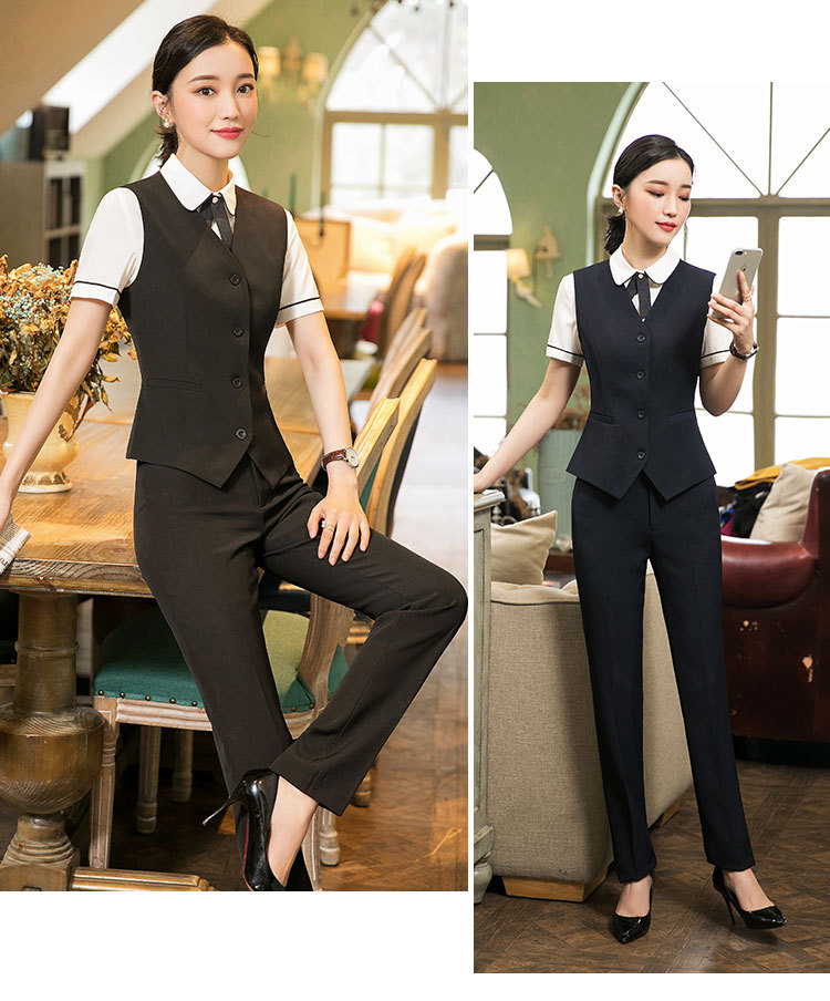 IZICFLY New Style Formal Vest & Waistcoat Plus Size Ladies Suits Business With Skirt And Jacket Pant Sets Office Uniform Styles