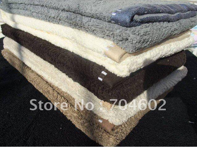 Cotton  Beach Towel  Thick Towel   100% cotton  70cm *140 cm 480-550g   Free Shipping