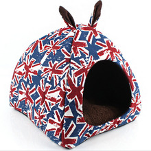 The New Pinter Pet Litter Dog Pad The British Union Jack Double Ear Ger Dog Kennel
