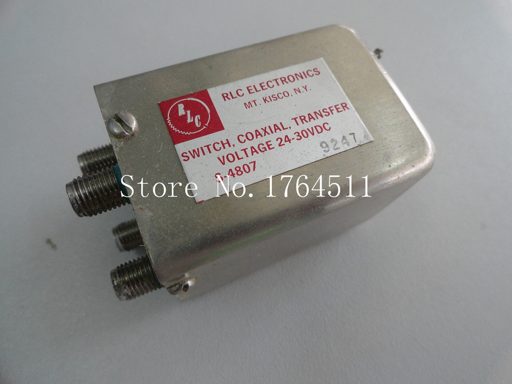 [BELLA] The Supply Of RLC S-4807 - DC-18GHZ 24-30V