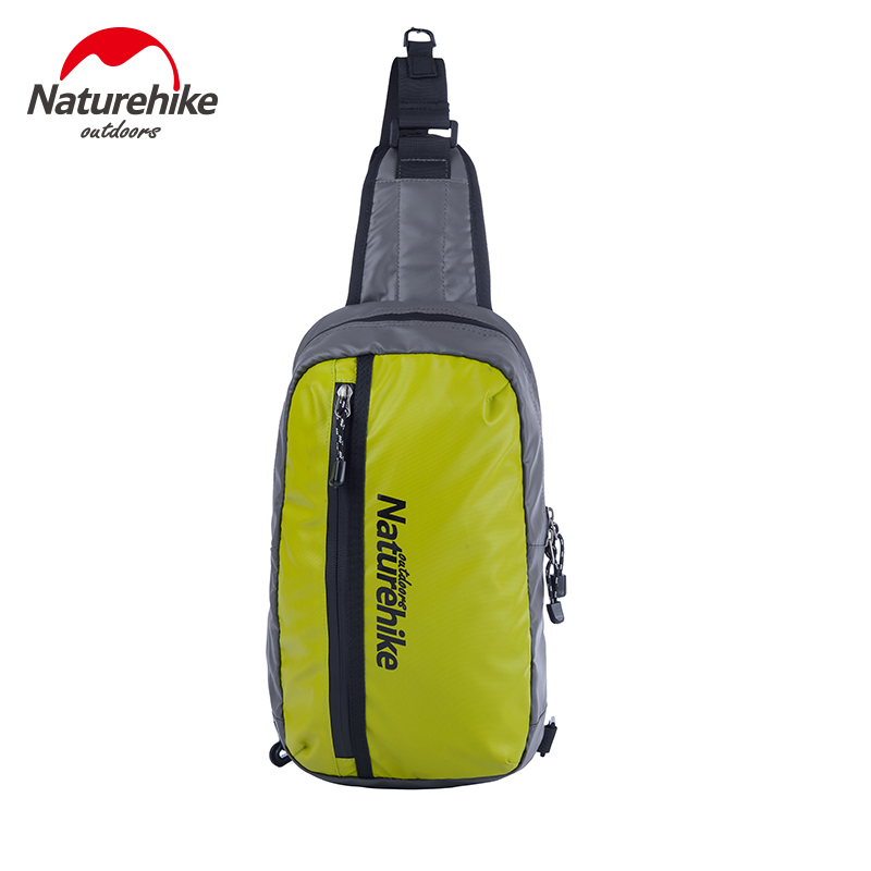 Naturehike outdoor waterproof shoulder bag men and women travel sports bag chest bags leisure riding hiking backpacks NH70B066-B