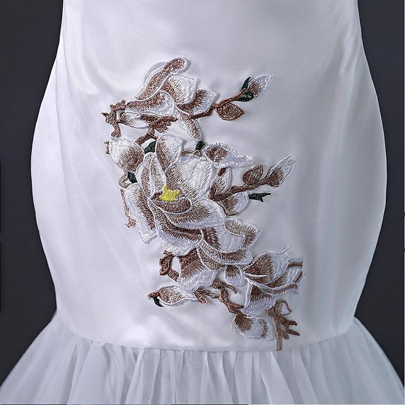 Disfraz De Carnaval para niños vestidos para niñas vestidos De graduación 2018 vestido De novia para niños sirena Cheongsam traje De Soiree chino - 5
