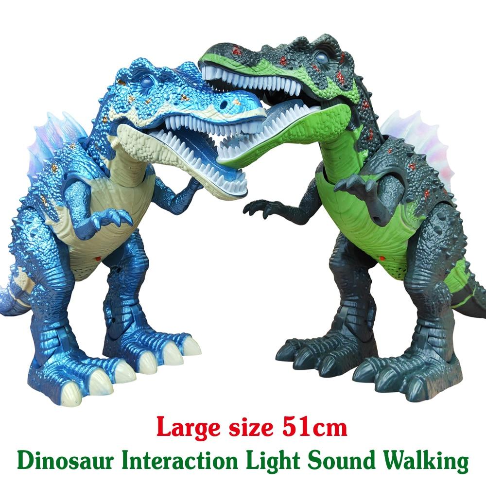 Большой мир динозавров игрушечная лампа звук прогулки моделирование электронных Тиранозавр Рекс, динозавры сюрприз игрушки подарки для де...