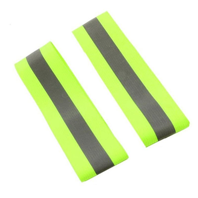Back To Search Resultssports & Entertainment Mounchain Exquisite Reflective Warning Tape Safety Warning Belt For Exercise Cycling Running At Night Armlet Arm Wrist Band Durable Service