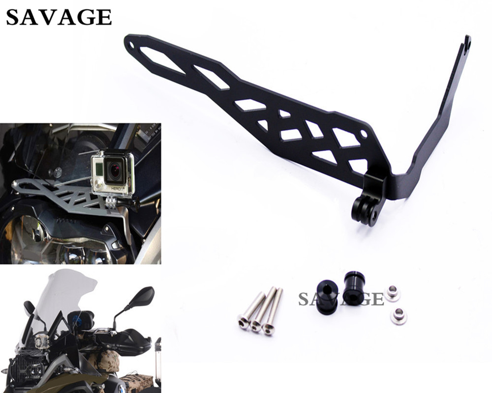 Motorcycle Cam Rack Camera Mount Bracket Guard Concept For BMW R 1200 GS LC  2013-2016 R 1200 GS  LC ADV  2014-2016 Black partol black car roof rack cross bars roof luggage carrier cargo boxes bike rack 45kg 100lbs for honda pilot 2013 2014 2015