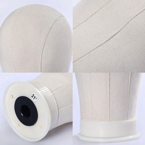 Image 2 - Xtrend Wig Head Canvas Block Holder Mannequin Manikin Stand Professional Styling Making Tools Heads Manequin For Wigs Display