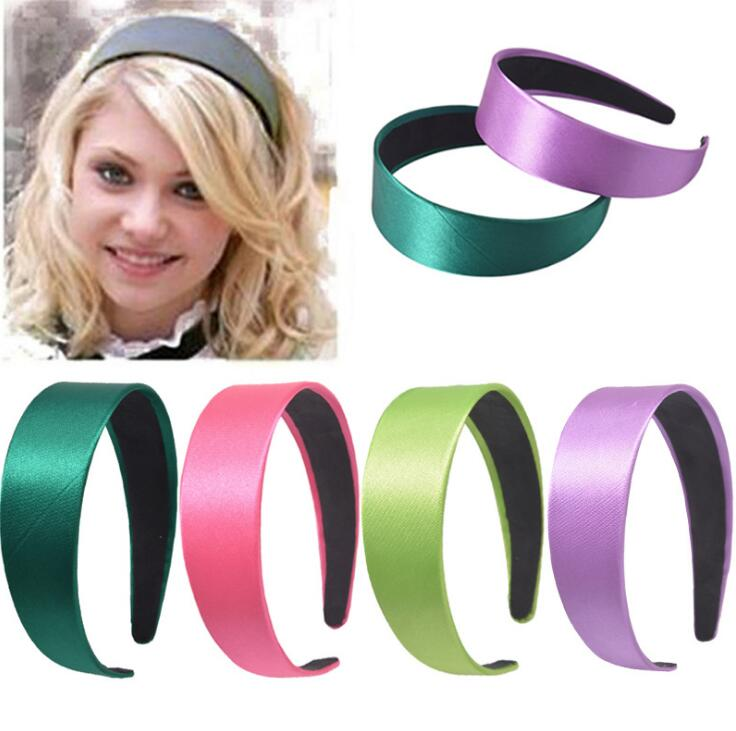 Hair Band Plain Alice Hairband Bow Hoop 3cm Width Headbands 1.1 Inch Wide Hair Band Ribbon HeadBand