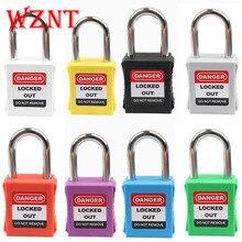 20 stücke freies verschiffen Loto 38mm Farbe Verschiedene Sicherheit Lock Sicherheit Vorhängeschloss