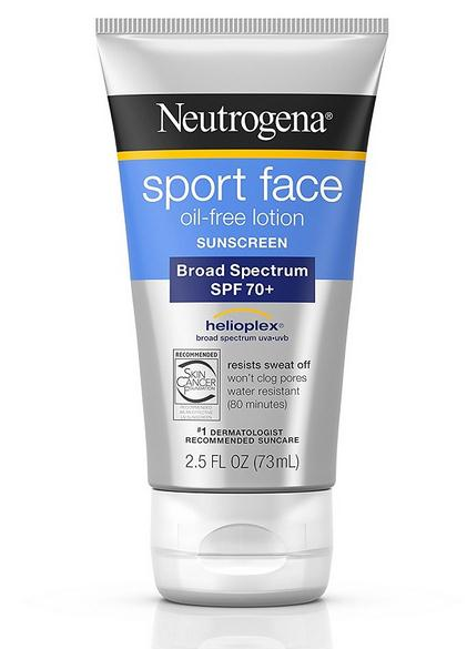 Neutrogena/ Neutrogena sports sunscreen SPF70+ 73ml waterproof and anti perspiration EXP11/18 neutrogena neutrogena крем для ног восстанавливающий 100 мл